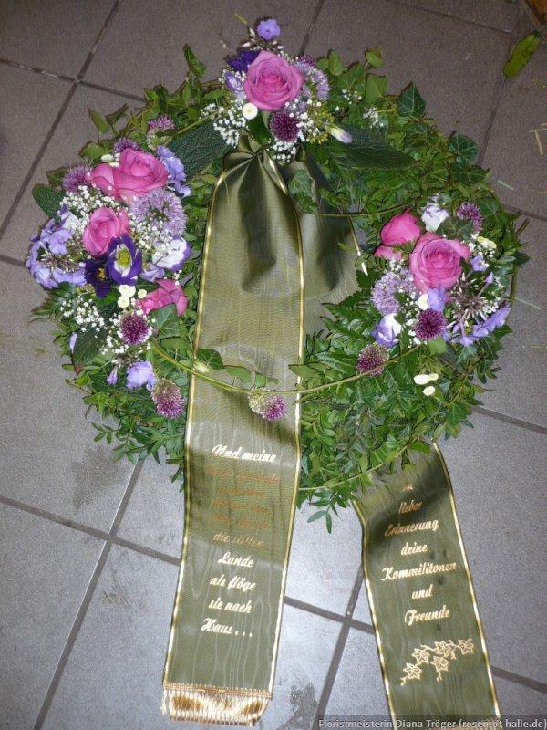 Krnze Floristmeisterin Diana Trger